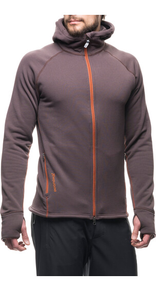 Houdini Power Houdi Jacket Men Backbeat Brown
